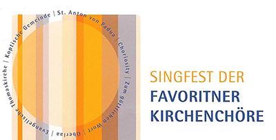 Singfest der Favoritner Kirchenchöre