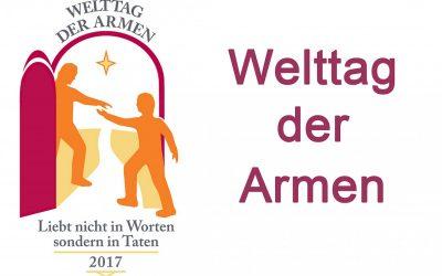 """Am """"Welttag der Armen"""" Spendensammlung in allen Diözesen"""