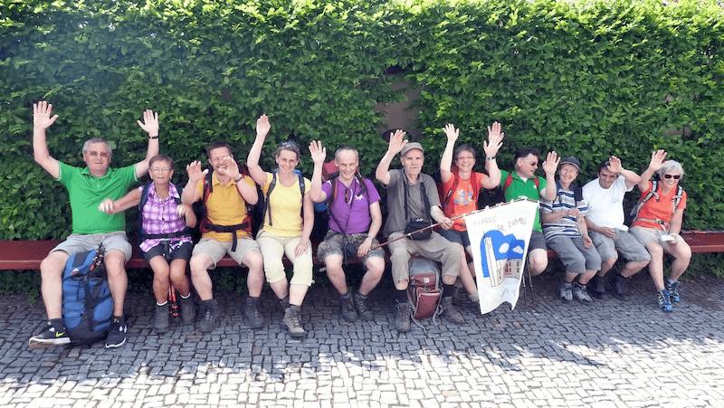 Wallfahrt nach Mariazell/Hl. Familie