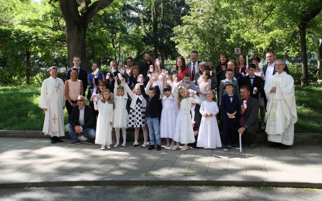 Erstkommunion in der Heiligen Familie