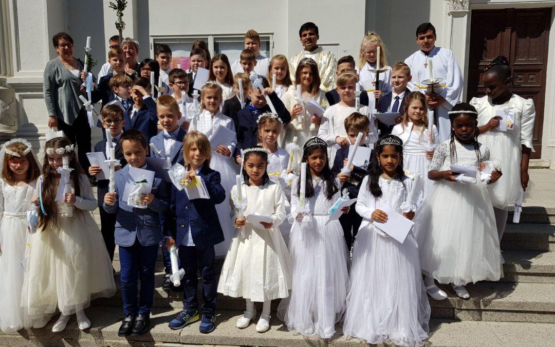 Erstkommunion in St. Johann