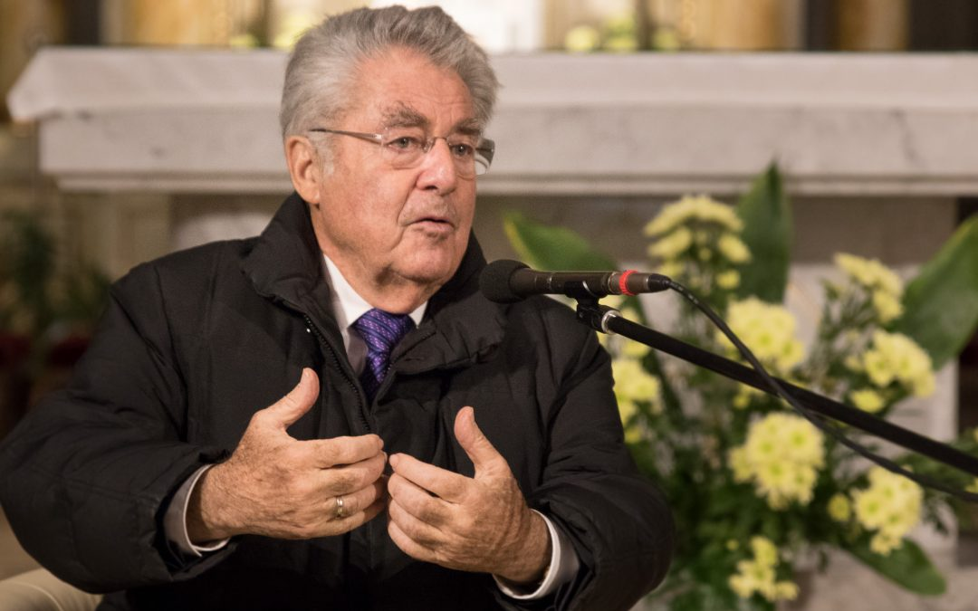 Menschen im Gespräch – Dr. Heinz Fischer