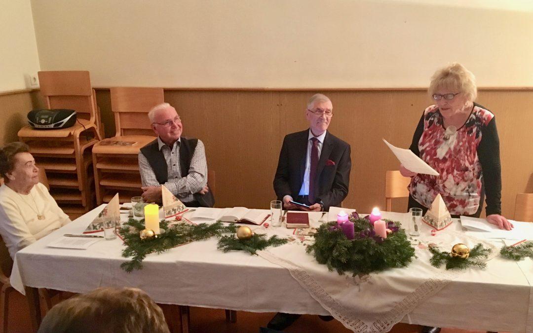 Adventfeier der Senioren in St. Johann