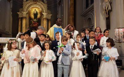 Erstkommunion 2019 Gemeinde St. Johann