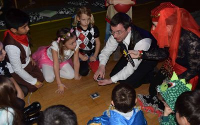 Kinderfasching in der AHD