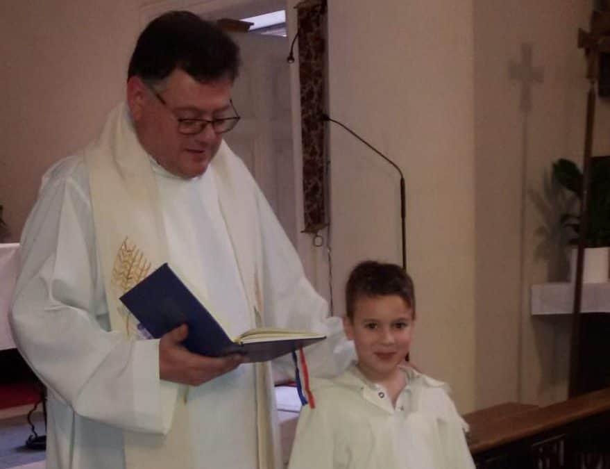 Taufe in der Gemeinde AHD