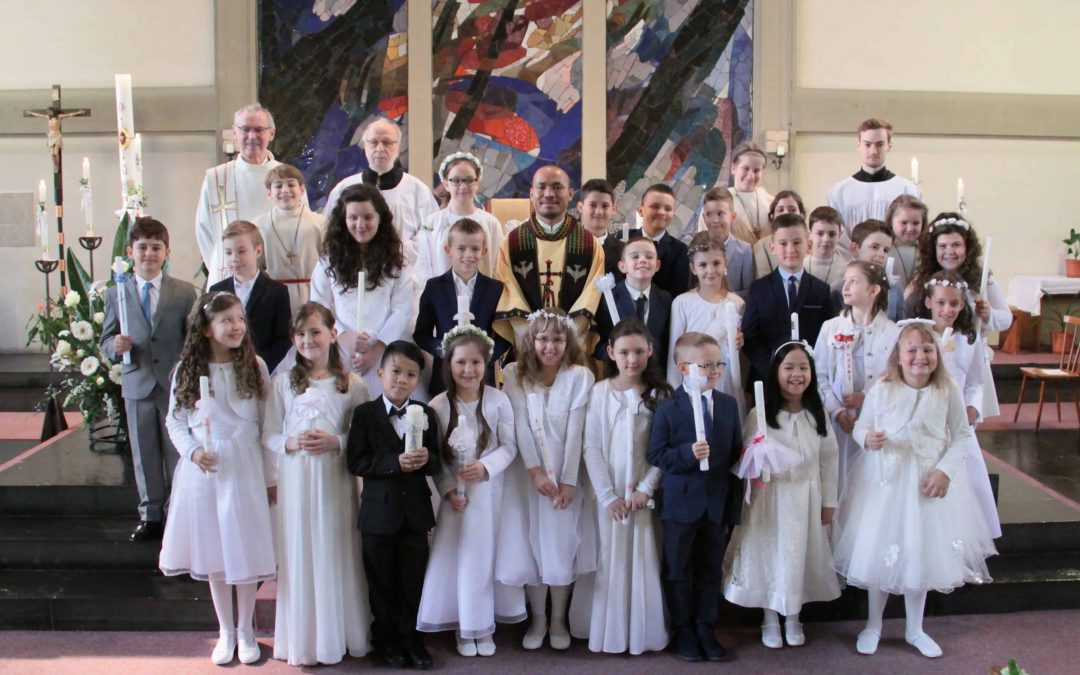 Erstkommunion 2019 Gemeinde  Hl. Familie
