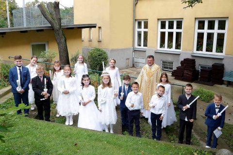 Erstkommunion in der Gemeinde AHD am 26. und 27. 09. 2020
