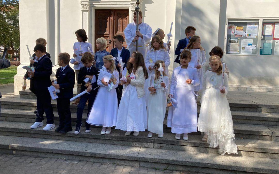 Erstkommunion in St. Johann 2020