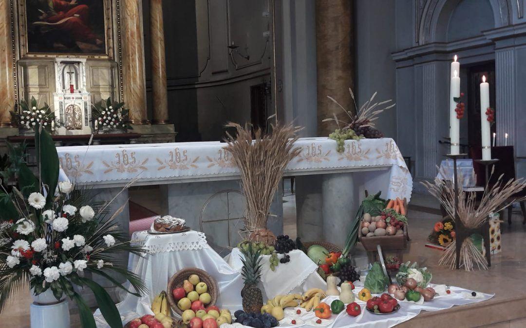 Erntedankfest und Abschied P. Hans
