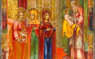 Evangelium Darstellung des Herrn