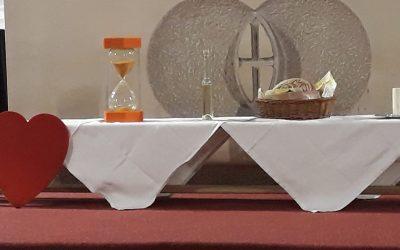 Gründonnerstag in der Heiligen Familie.